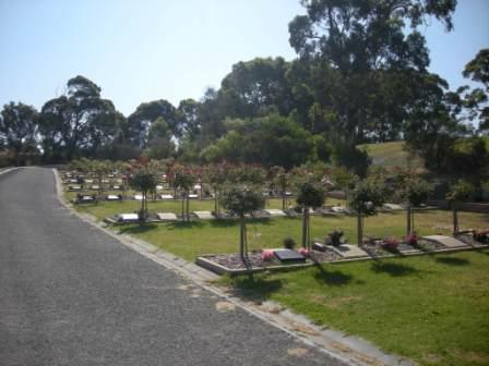 Cemetery Terrace Lawn Section