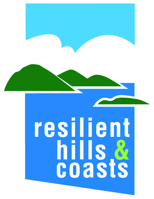 Resilient Hills and Coasts - logo