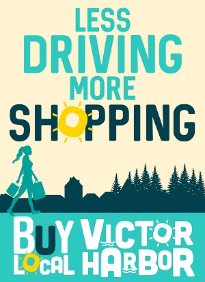 Less driving more shopping
