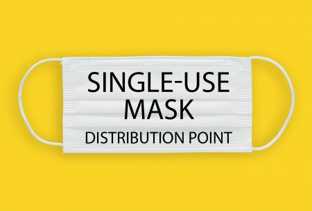 Mask distribution centre