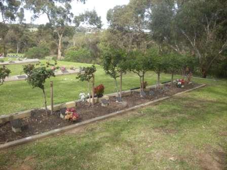 Cemetery Ocean View Rose Garden