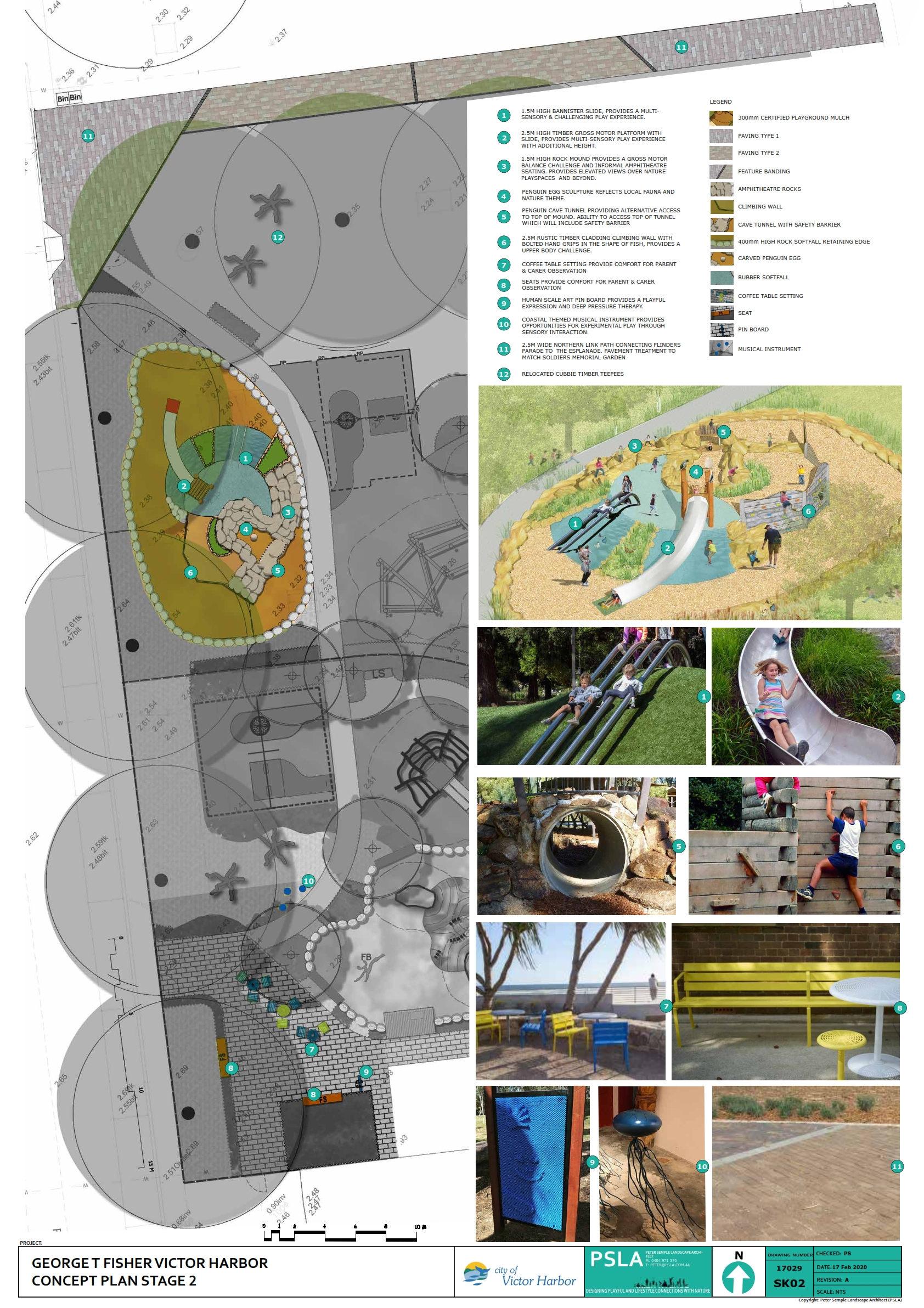 George T Fisher Playground - Stage 2
