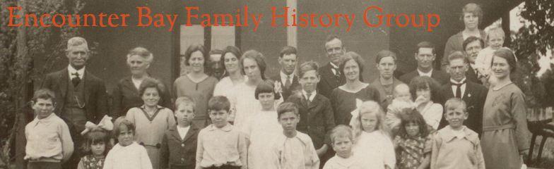 Encounter Bay Family History Group