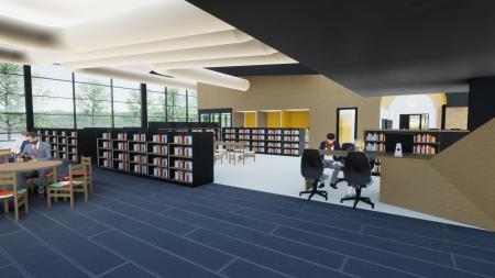 Library Upgrade 2021 Concept interior