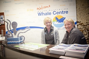 SA Whale Centre Volunteers