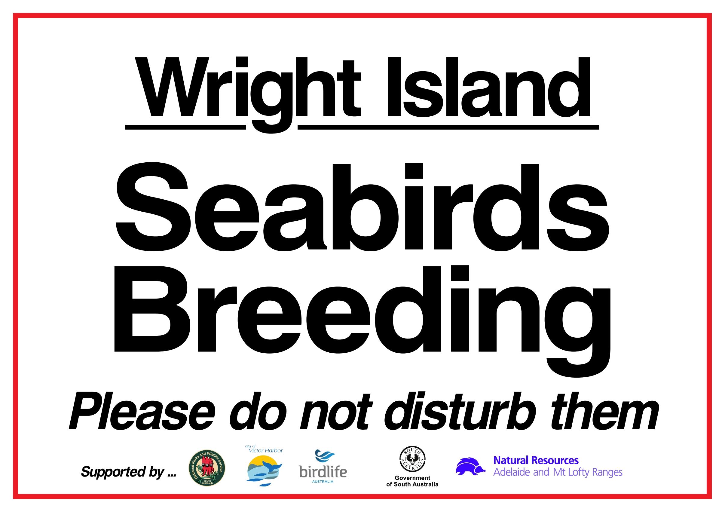 Wright Island closure